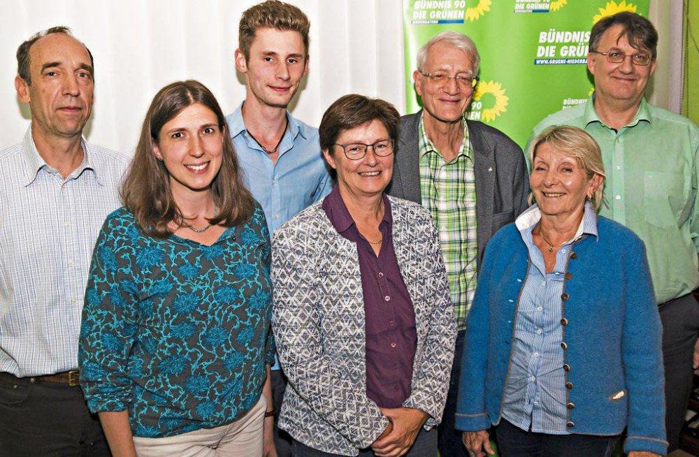 Der Vorstand der Deggendorfer Grünen