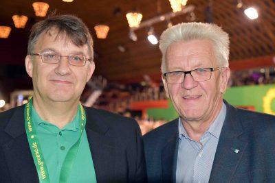 Christian Heilmann trifft Winfried Kretschmann