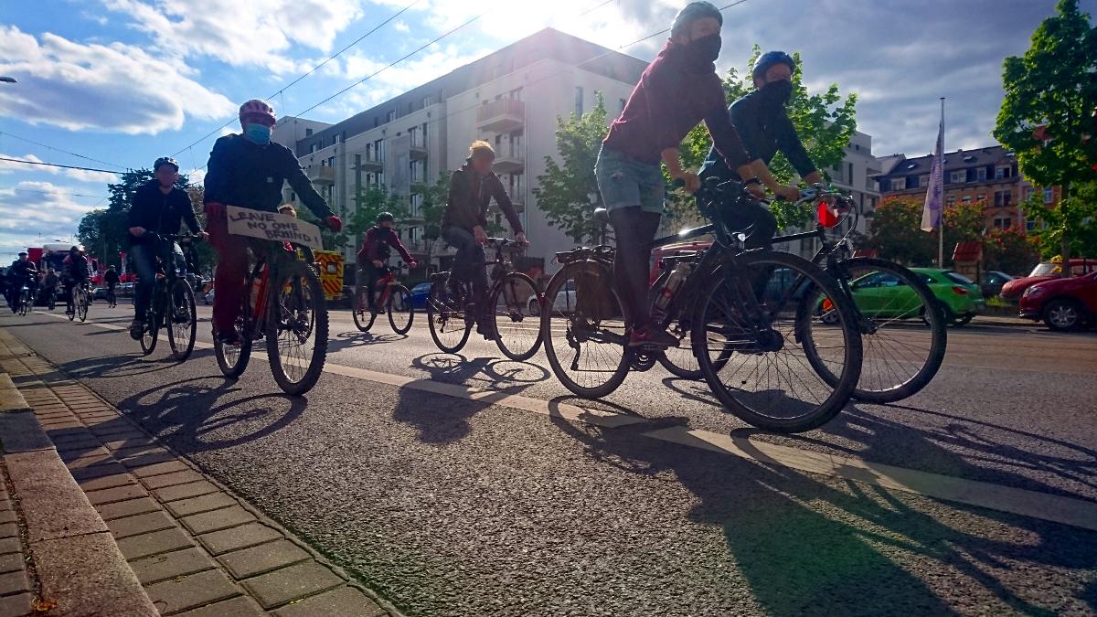 erste Fahrraddemo im Kreis Deggendorf!